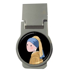 Girl With A Pearl Earring Money Clips (round)