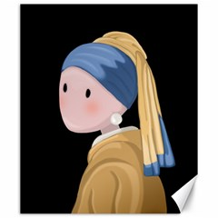 Girl With A Pearl Earring Canvas 20  X 24