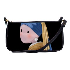 Girl With A Pearl Earring Shoulder Clutch Bags