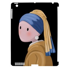 Girl With A Pearl Earring Apple Ipad 3/4 Hardshell Case (compatible With Smart Cover)