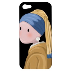 Girl With A Pearl Earring Apple Iphone 5 Hardshell Case