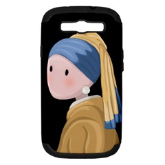 Girl With A Pearl Earring Samsung Galaxy S Iii Hardshell Case (pc+silicone)