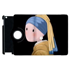 Girl With A Pearl Earring Apple Ipad 3/4 Flip 360 Case