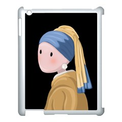 Girl With A Pearl Earring Apple Ipad 3/4 Case (white)