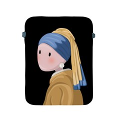 Girl With A Pearl Earring Apple Ipad 2/3/4 Protective Soft Cases