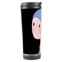 Girl With A Pearl Earring Travel Tumbler