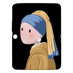 Girl With A Pearl Earring Samsung Galaxy Tab 3 (10 1 ) P5200 Hardshell Case