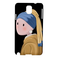 Girl With A Pearl Earring Samsung Galaxy Note 3 N9005 Hardshell Case
