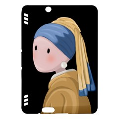 Girl With A Pearl Earring Kindle Fire Hdx Hardshell Case