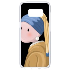 Girl With A Pearl Earring Samsung Galaxy S8 White Seamless Case