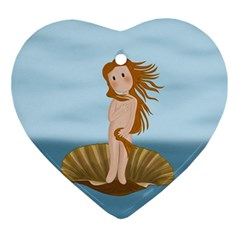 The Birth Of Venus Ornament (heart)