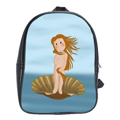The Birth Of Venus School Bag (large)