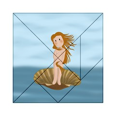 The Birth Of Venus Acrylic Tangram Puzzle (6  X 6 )