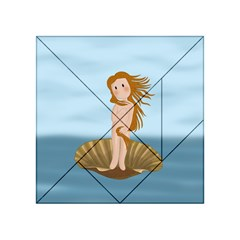 The Birth Of Venus Acrylic Tangram Puzzle (4  X 4 )