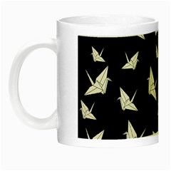 Paper Cranes Pattern Night Luminous Mugs