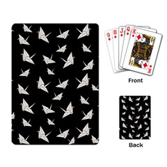 Paper Cranes Pattern Playing Card