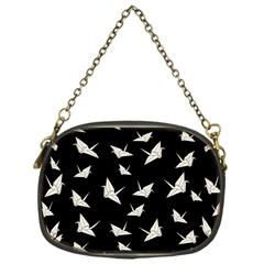 Paper Cranes Pattern Chain Purses (one Side)