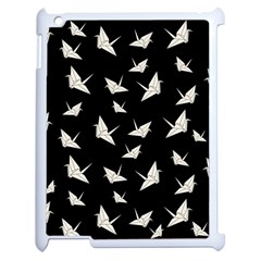 Paper Cranes Pattern Apple Ipad 2 Case (white)
