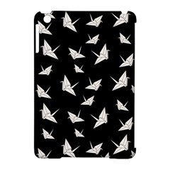 Paper Cranes Pattern Apple Ipad Mini Hardshell Case (compatible With Smart Cover)
