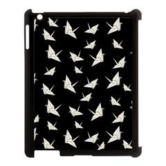 Paper Cranes Pattern Apple Ipad 3/4 Case (black)