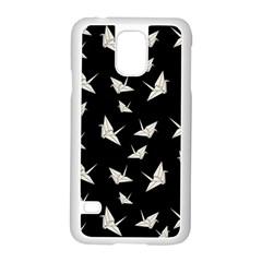 Paper Cranes Pattern Samsung Galaxy S5 Case (white)