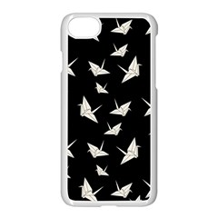 Paper Cranes Pattern Apple Iphone 8 Seamless Case (white)