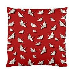 Paper Cranes Pattern Standard Cushion Case (two Sides)