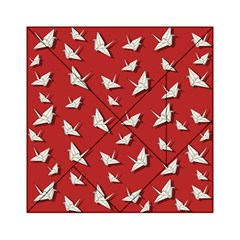 Paper Cranes Pattern Acrylic Tangram Puzzle (6  X 6 )