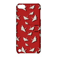 Paper Cranes Pattern Apple Ipod Touch 5 Hardshell Case With Stand