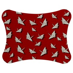 Paper Cranes Pattern Jigsaw Puzzle Photo Stand (bow)