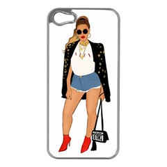 Beyonce Apple Iphone 5 Case (silver)