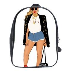 Beyonce School Bag (xl)