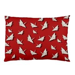 Paper Cranes Pattern Pillow Case