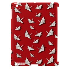 Paper Cranes Pattern Apple Ipad 3/4 Hardshell Case (compatible With Smart Cover)