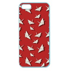 Paper Cranes Pattern Apple Seamless Iphone 5 Case (color)