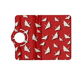 Paper Cranes Pattern Kindle Fire Hd (2013) Flip 360 Case