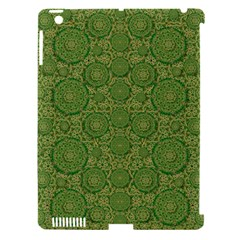 Stars In The Wooden Forest Night In Green Apple Ipad 3/4 Hardshell Case (compatible With Smart Cover)
