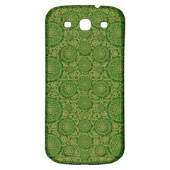 Stars In The Wooden Forest Night In Green Samsung Galaxy S3 S Iii Classic Hardshell Back Case
