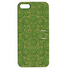 Stars In The Wooden Forest Night In Green Apple Iphone 5 Hardshell Case With Stand