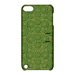 Stars In The Wooden Forest Night In Green Apple Ipod Touch 5 Hardshell Case With Stand