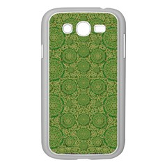 Stars In The Wooden Forest Night In Green Samsung Galaxy Grand Duos I9082 Case (white)