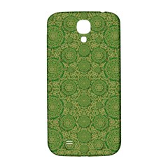 Stars In The Wooden Forest Night In Green Samsung Galaxy S4 I9500/i9505  Hardshell Back Case