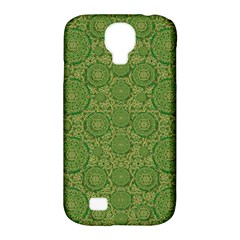 Stars In The Wooden Forest Night In Green Samsung Galaxy S4 Classic Hardshell Case (pc+silicone)