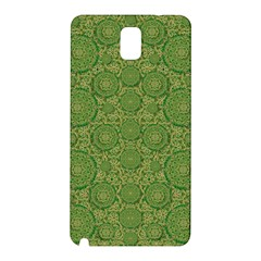 Stars In The Wooden Forest Night In Green Samsung Galaxy Note 3 N9005 Hardshell Back Case