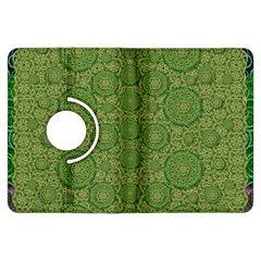 Stars In The Wooden Forest Night In Green Kindle Fire Hdx Flip 360 Case