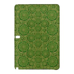 Stars In The Wooden Forest Night In Green Samsung Galaxy Tab Pro 10 1 Hardshell Case