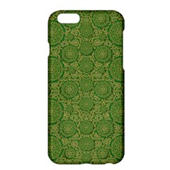 Stars In The Wooden Forest Night In Green Apple Iphone 6 Plus/6s Plus Hardshell Case