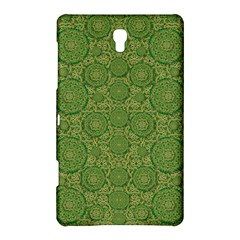 Stars In The Wooden Forest Night In Green Samsung Galaxy Tab S (8 4 ) Hardshell Case