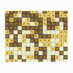 Autumn Leaves Pattern Small Glasses Cloth (2 Side)