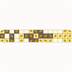 Autumn Leaves Pattern Small Bar Mats